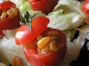 Tomates farcies crevettes coco