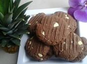 Cookies Nutella chocolat blanc ingrédients) thermomix kitchenaid