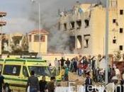 Egypte Double attaque d'une branche l'EI
