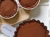 Tartelettes tout chocolat Pâte crousti-fondante muesli