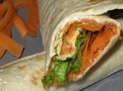 Wrap thon, carotte salade