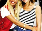 Vitaa prend pose avec chanteuse Tenny