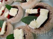 Galipettes Brie, tomates séchées sauge