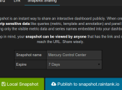 Grafana sortie Dashboard Graphite InfluxDB
