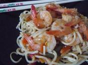 Nouilles chinoises crevettes