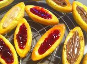 """Barquette fraise, chocolat, franmboise façon """"LU"""" petits châtons"""