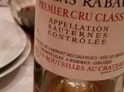 Quelques vieux Sauternes pour terminer grand repas!