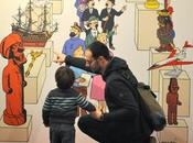 Expo famille musée imaginaire Tintin Musée Herbe