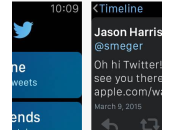 Twitter disponible l'Apple Watch