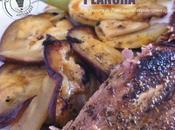 Plancha Travers porc, Fenouil aubergines, épices cajun