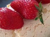 Meringue fraises dessert leger