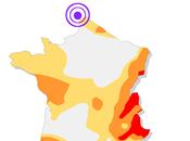 Séisme Calais (22/05/2015, Ml=4.4)