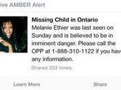 Facebook lance système d'alerte AMBER Canada