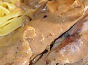Aiguillette canard sauce balsamique