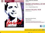 Premier hommage Carlos Gardel, chez lui, mois anniversaire l'affiche]