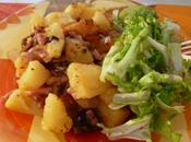 Pommes terre lard fumé autocuiseur)