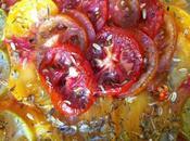 Tarte tomates colorées savora graines fenouil