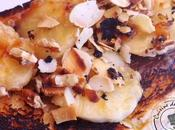 Brioche banane chocolat fondu plancha