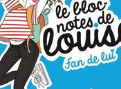 Bloc-notes louise: lui, Charlotte Marin Marion Michau