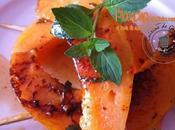 Plancha Melon-gingembre huile Noix