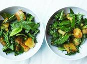 Salade saison pissenlit pomme terre d'inspiration autrichienne
