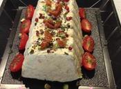 Terrine poulet pistaches, tomates confites basilic