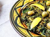 Bakoula salade d'épinards marocaine
