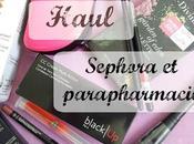 Haul Sephora parapharmacie juil 2015