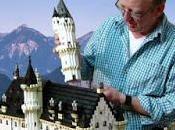 château Neuschwanstein reconstruit briques Lego