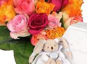 FLORAJET Découvrez collections «spécial naissance», bouquets fleurs plantes fraîches ainsi cadeaux «nature» commander ligne, pour fêter l'arrivée bébé