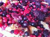 Brioche gratin fruits rouges