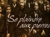 """Chronique plaindre Pierres"""" Chris Verhoest"""
