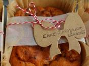 Cake ratatouille lardons