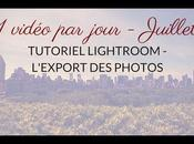 Lightroom l'export photos