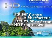 Utiliser versions facteur réflexion écrans Progressive
