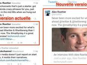 Twitter: contenu liens apparaît timeline