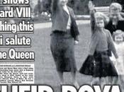 Elizabeth salut nazi