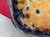 Cobbler myrtilles (Blueberry cobbler)