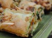 Recette rouleaux courgettes, épicés vegan, sans gluten (Italie)