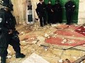 Palestine police israélienne entre dans mosquée d'Al-Aqsa