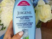 banc d'essai: L'hydratant pour peau mouillée Jergens