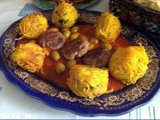 Boulettes pommes terre rapées fourrées fromage