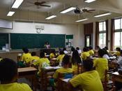 Dans coulisses petit tour l'école Taiwan