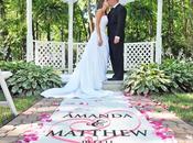 Choisir tapis d'église mariage