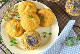 Muffins patate douce cumin