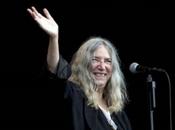 Patti Smith chanteuse américane débarque Mons
