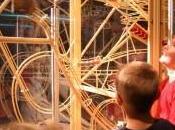 Installation Energie nouveaux rêves expérience audiovisuelle décoiffante