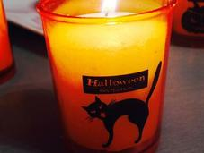 Crème potimarron curry Halloween