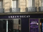Urban Decay collaboration avec Gwen Stefani Store Paris!