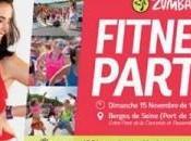 Zumba Fitness Party ,gratuite, Berges Seine ,dimanche novembre 2015,